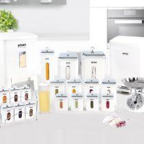 سرویس آشپزخانه لیمون مربع