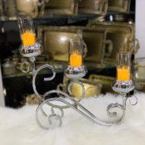 شمعدان سه شاخه با طراحی فوق العاده
