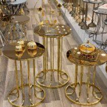 ست میز عسلی مدل ستونی