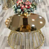 میز جلو مبلی طلایی