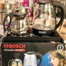 چای ساز جدید بوش صفحه لمسی مدل 1388 -BS دارای صافی استیل ضد زنگ و صفحه لمسی ظرفیت قوری با ظرفیت 1.2 لیتری و نشکن کیفیت فوق العاده و استثنایی