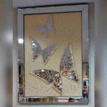 قاب دکوری دست ساز طرح پروانه برجسته