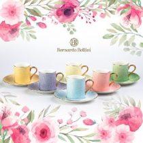 سرویس چای خوری چینی رنگی برند Bernardo Bellini فنجان